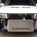 Mitsubishi EVO 4 - 6 Swept Back Intercooler Kit Plazmaman