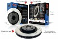 "DBA Front Rotors (Pairs) ""T2"" Series suit Mitsubishi Lancer EVO 1-3"