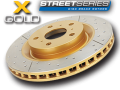 "DBA Front Rotors (Pairs) ""X-Gold"" Series suit Subaru Liberty GT MY05-06"