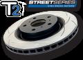 "DBA Front Rotors (Pairs) ""T2"" Series suit Subaru WRX MY94-98"