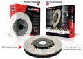 "DBA Front Rotors (Pairs) ""T3"" 5000 Series incl. GSR Brembo suit Mitsubishi Lancer EVO 5-9"