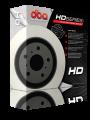 "DBA Front Rotors (Pairs) ""HD Direct"" Series suit Subaru WRX 99-00"