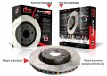 "DBA Front Rotors (Pairs) ""T3"" 4000 Series suit Subaru Liberty GT MY02-04"